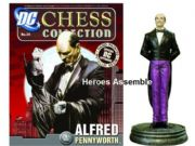 DC Chess Figurine Collection #26 Alfred Pennyworth White Pawn Eaglemoss